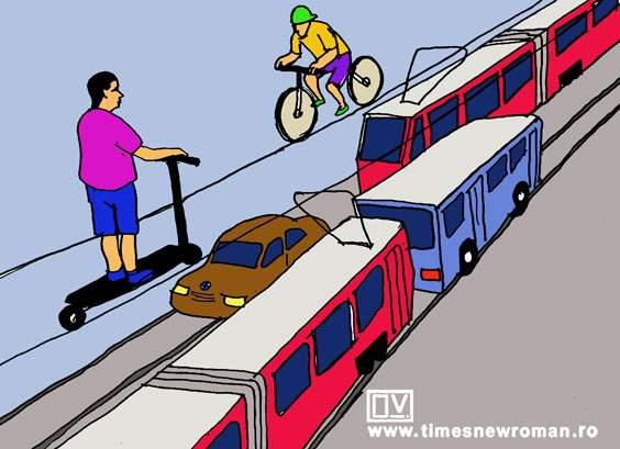 Eficientizarea liniei de tramvai
