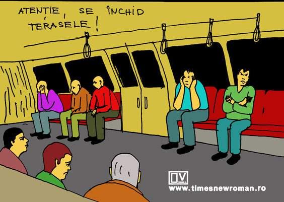 Metrou, ora 23