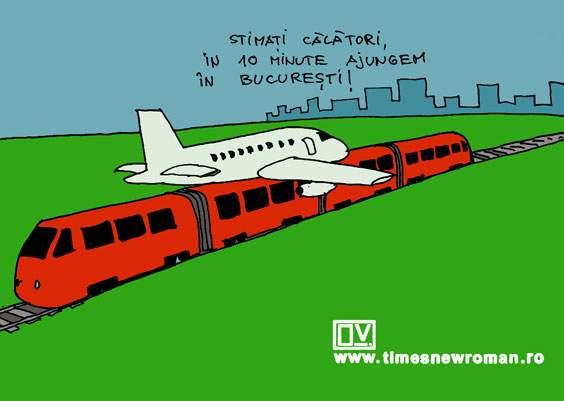 Trenul Otopeni-București