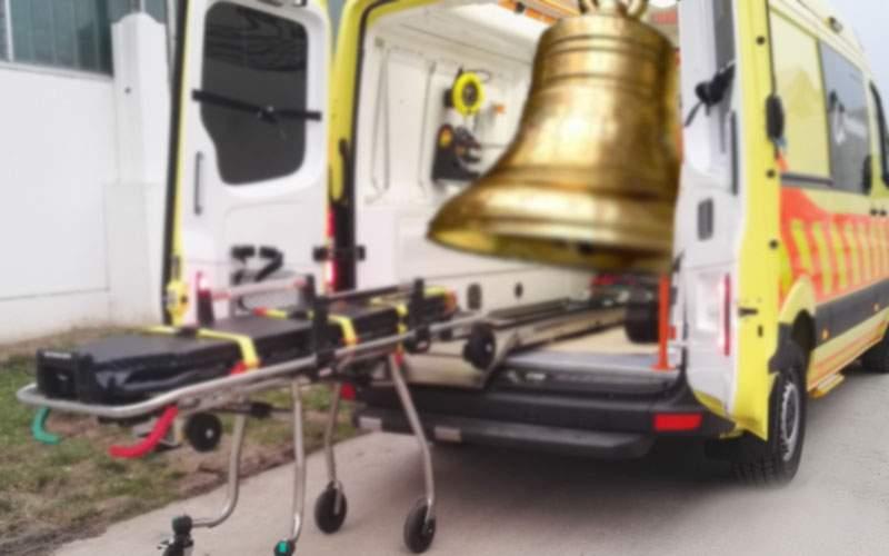 Săptămâna altfel! De luni, bisericile vor avea sirene și ambulanțele clopote