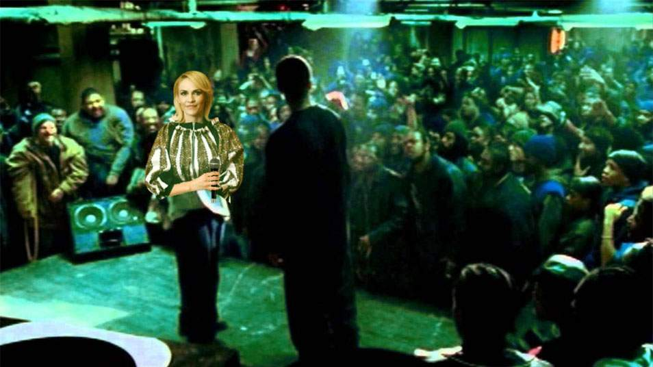 Firea l-a provocat pe Nicuşor Dan la un battle de muzică populară