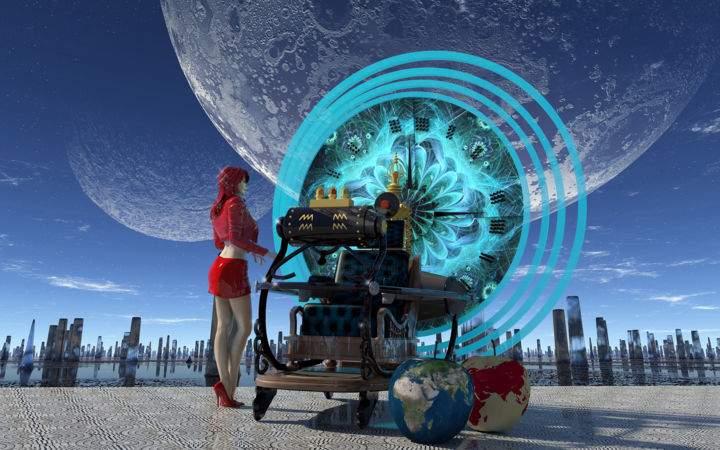 O cercetătoare a inventat maşina timpului şi se chinuie de o oră să o parcheze
