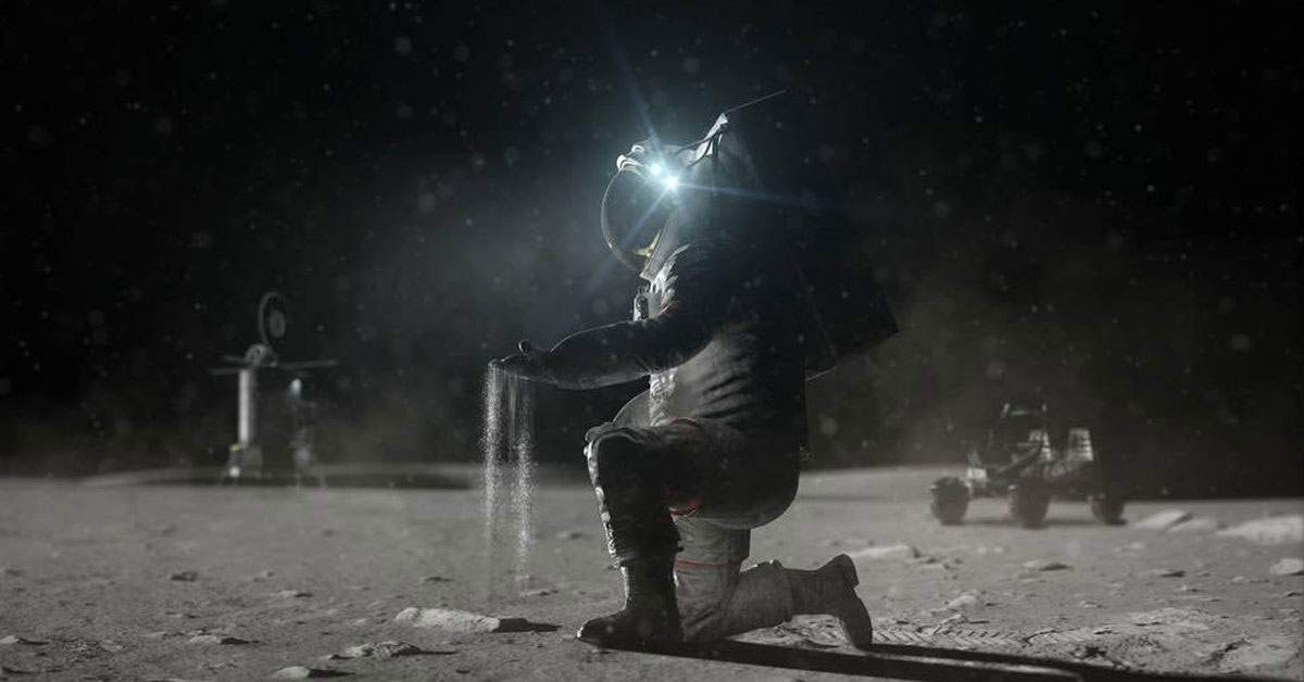 NASA va trimite o femeie pe Lună, că s-a făcut praful cât casa