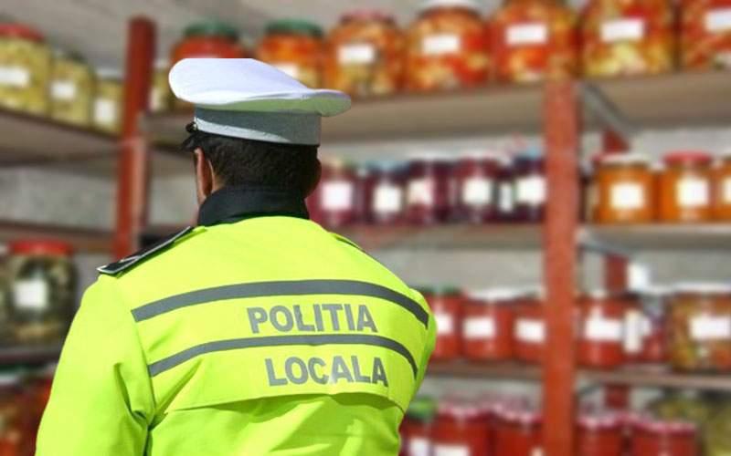Poliţia Locală, mobilizată la Voluntari să-i capseze lui Firea borcanele de zacuscă