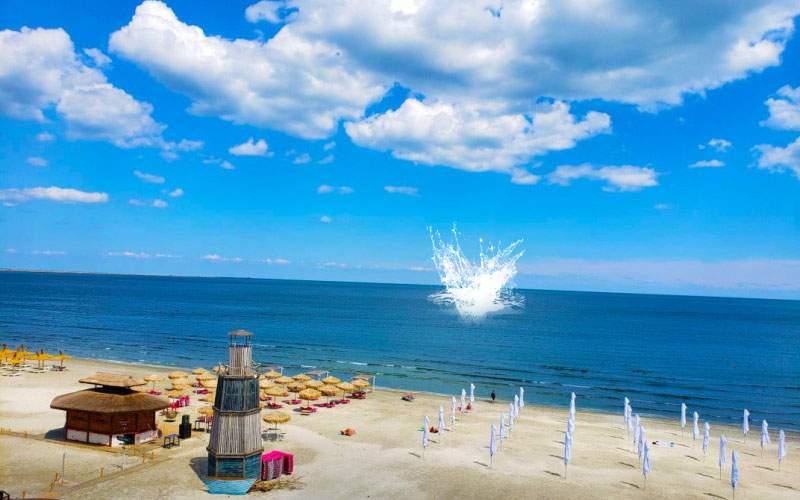 Un avion rusesc care survola Marea Neagră s-a prăbușit când a văzut prețurile din Mamaia
