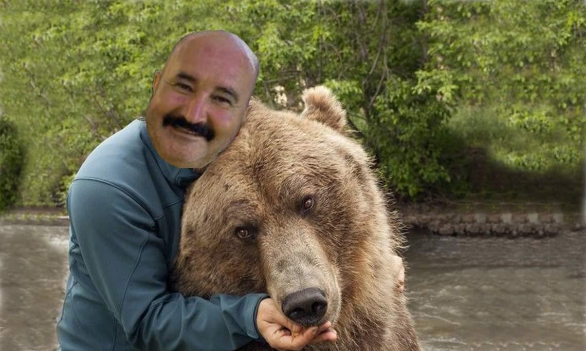Aroganță totală! Nuțu Cămătaru s-a dus la munte cu ursul propriu