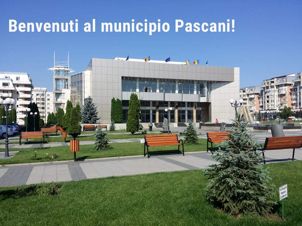Pașcani, primul oraș din România în care italiana e limbă oficială în administrație