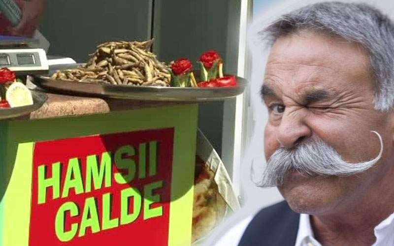 Un lipovean bătrân spune că orice poate fi prăjit în mălai şi vândut ca hamsii