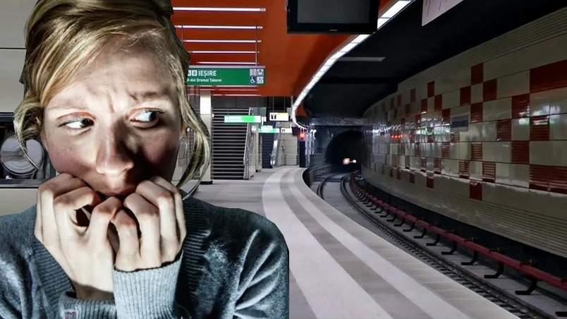 Locuitorii din Drumul Taberei s-au speriat și au fugit la suprafață când au văzut trenurile de metrou, că nu știau ce-s alea