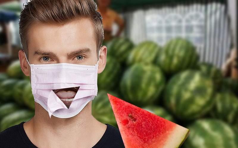 Pepenarii îţi fac acum dop şi la mască, să poţi gusta pepenele