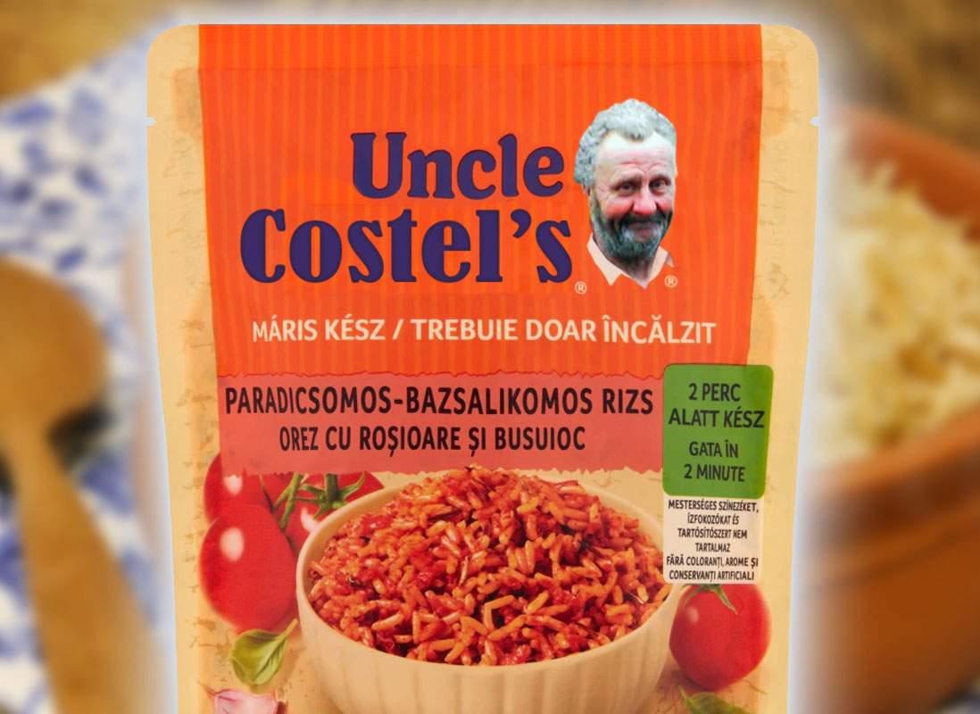 Uncle Ben's renunţă la afroamericanul de pe ambalaj şi se va numi Uncle Costel's