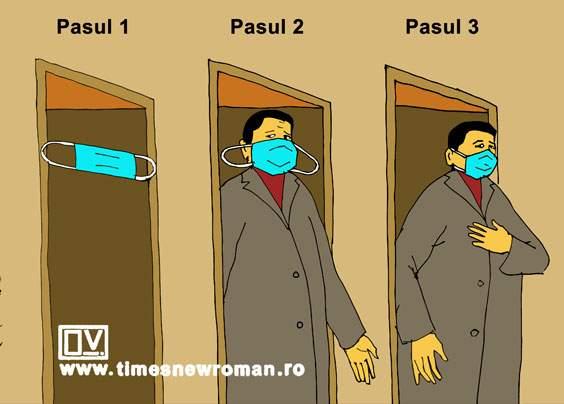 Cum să nu uiți să-ți pui masca