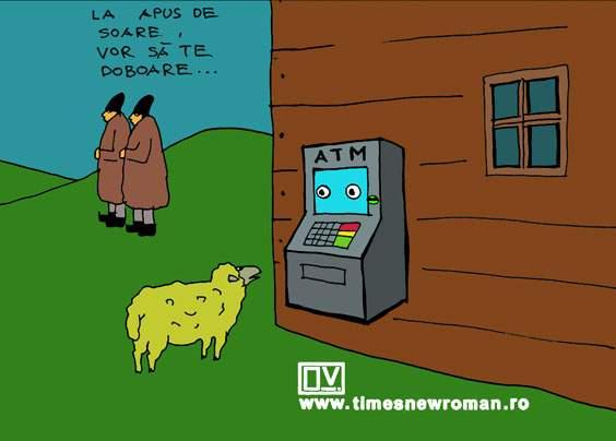 Miorița și ATM-ul