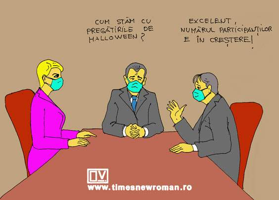 Pregătiri de Halloween