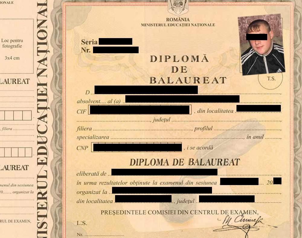"""Atenţie! Dacă pe diploma ta scrie """"Balaureat"""", s-ar putea să fie falsă"""