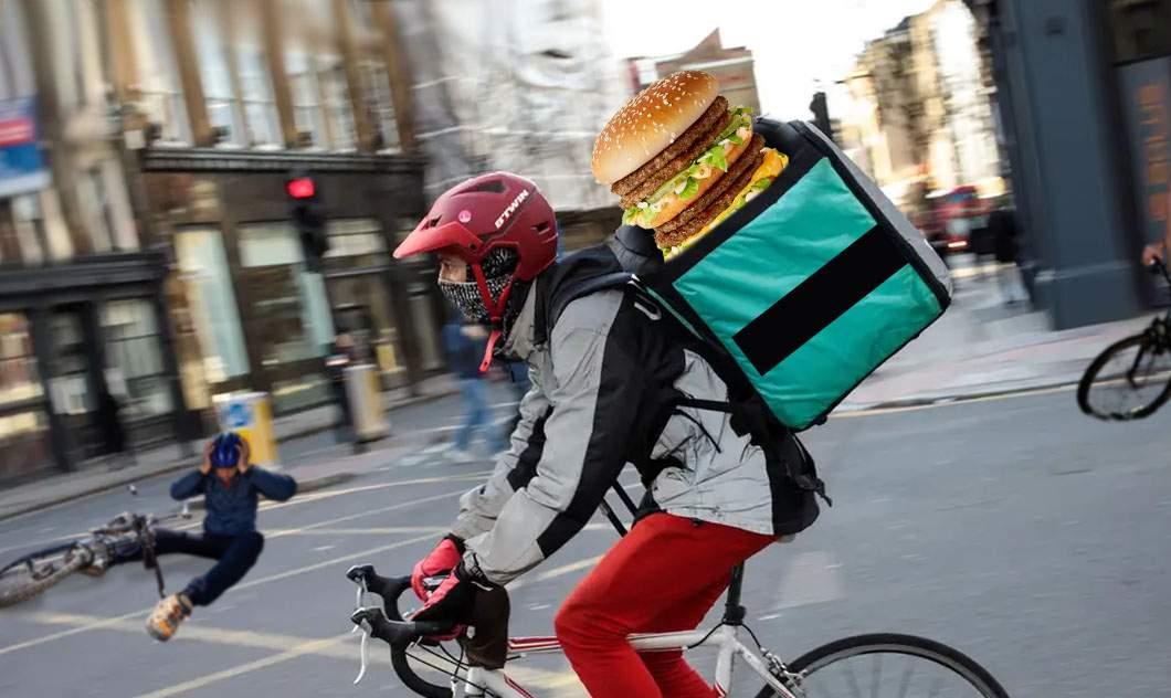 Big Mac dublu, retras de pe piaţă pentru că se răsturnau curierii cu el