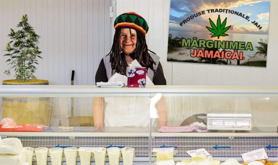 Cozi imense la magazinul de jamaicani din piaţă după lansarea brânzei cu canabis