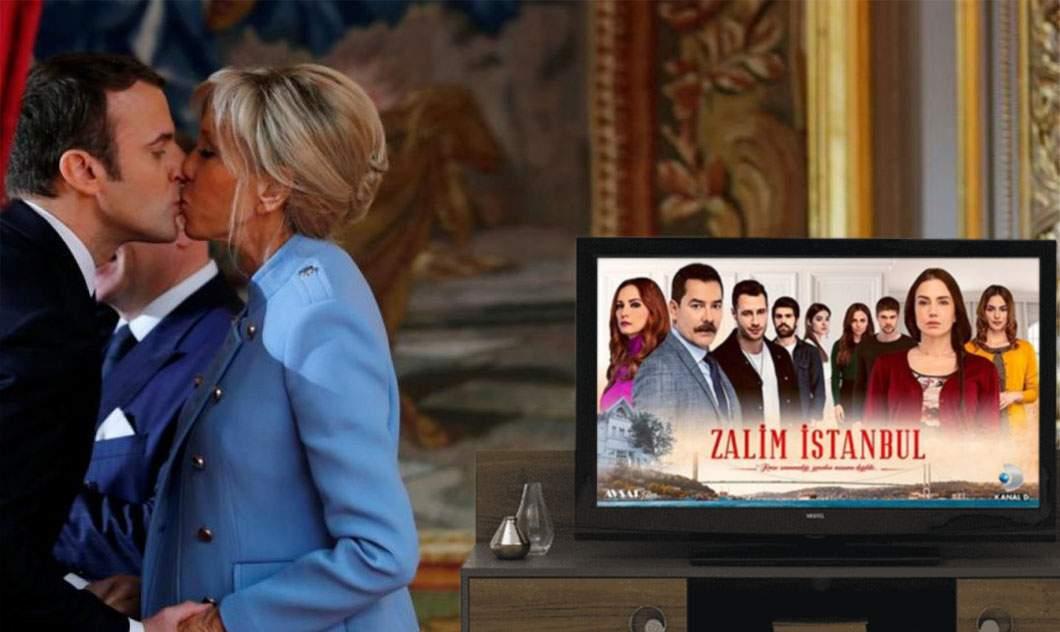 Trădare în Franța. Soția lui Macron se uită la seriale turcești