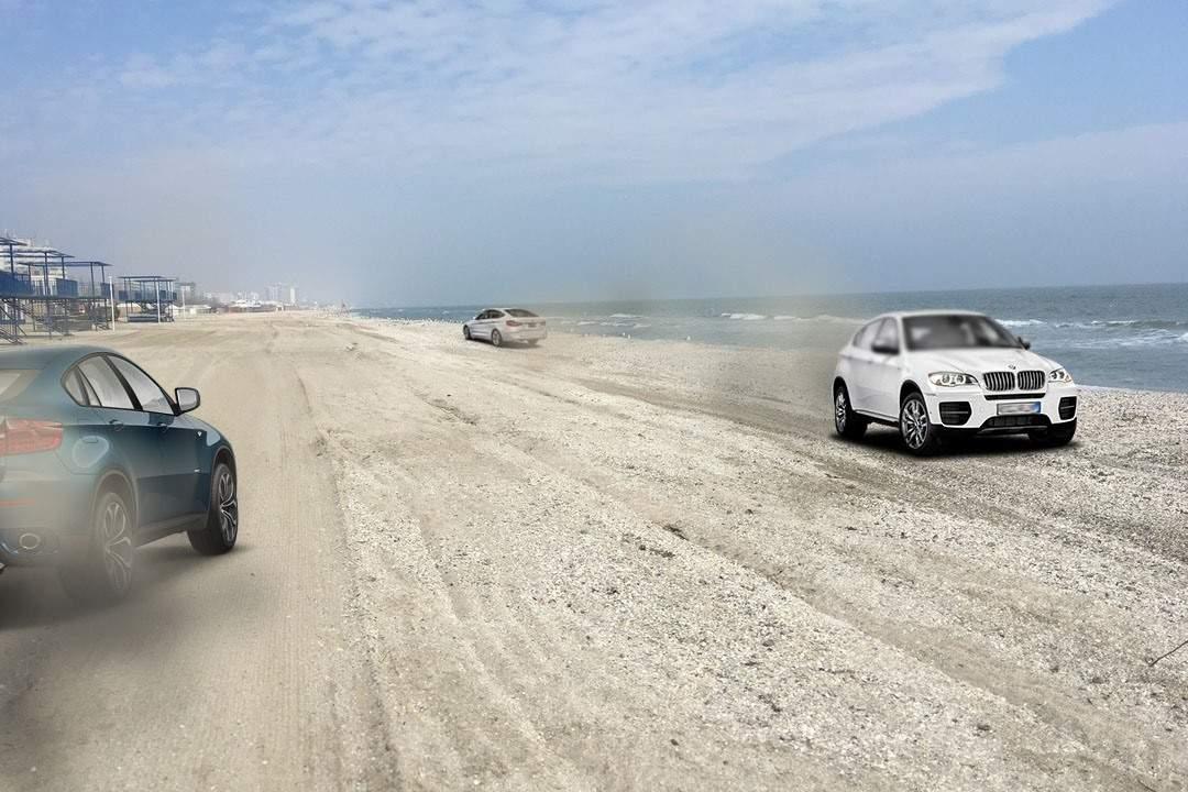 Plajele vor fi lățite la 100 metri, ca să poată circula BMW-urile pe 6 benzi