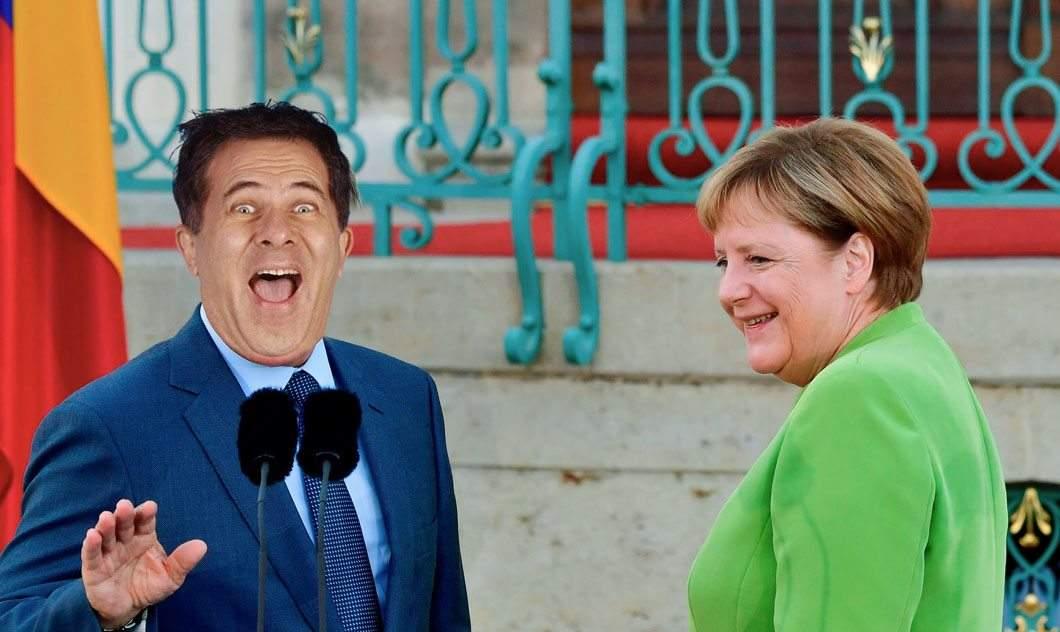 Merkel negociază cu Doru Octavian Dumitru construcţia unui hazoduct