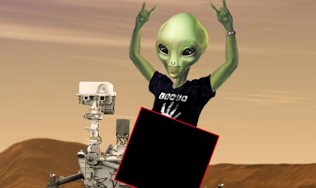 Scandal la NASA după ce robotul Curvosity a făcut sex cu toți extratereștrii