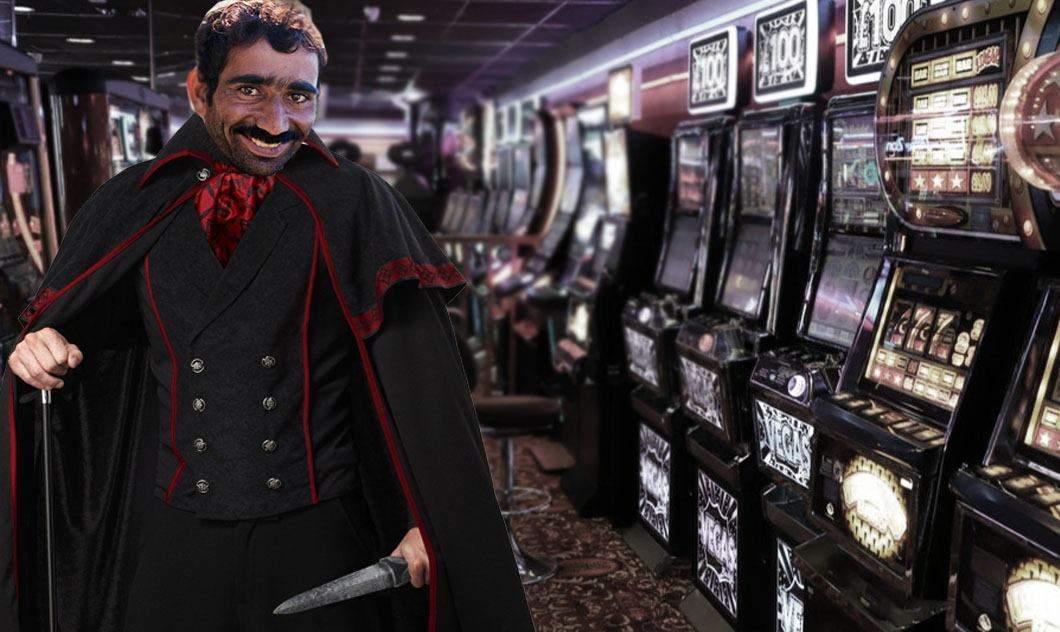 Jackpot Spintecătorul a mai eviscerat un aparat de păcănele în Rahova!