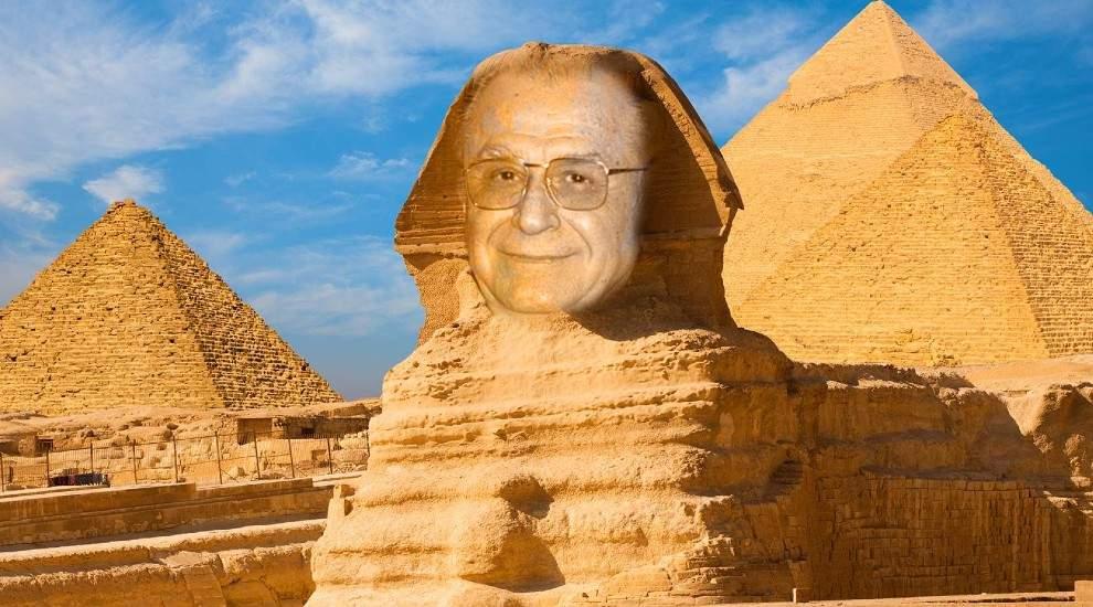 Arheologii au descoperit piramida construită acum 3500 ani pentru Ion Iliescu