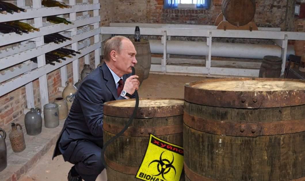 Putin, grav bolnav după ce a tras țuică din butoiul cu Noviciok