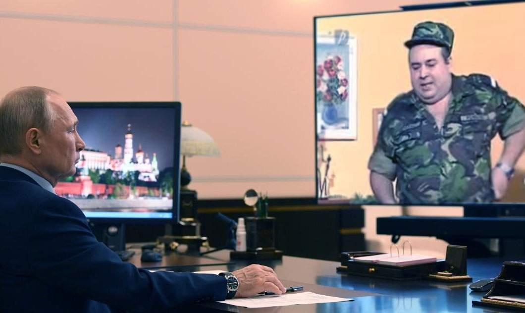 Putin recunoaște că se uita la Trăsniți în NATO ca să afle cum funcționează NATO