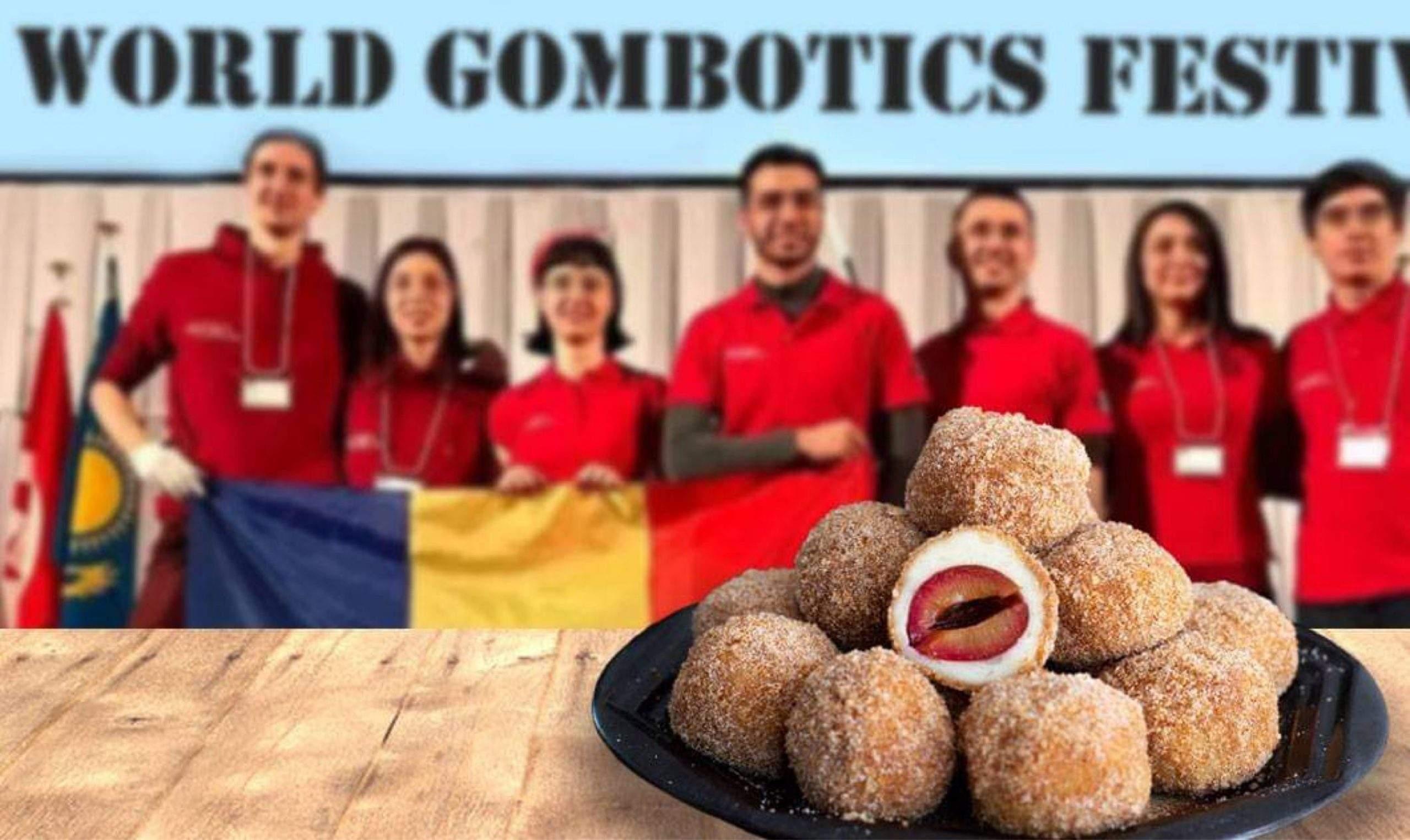 O rețetă românească de gomboți cu prune, locul I la Salonul Internațional de Gombotică
