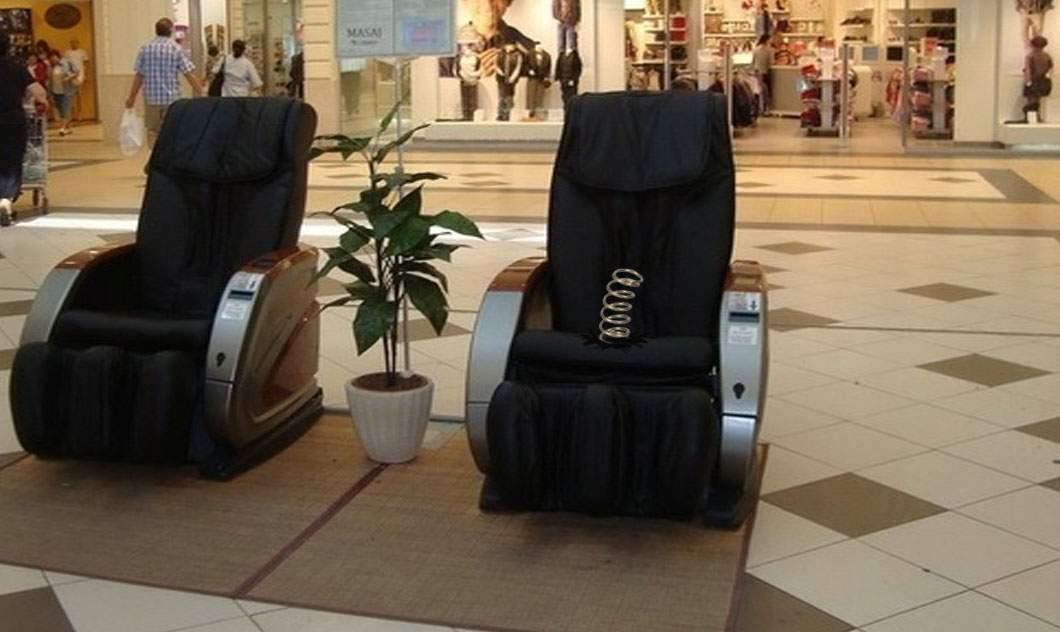 Un fotoliu de masaj defect a violat 7 clienți într-un mall din București