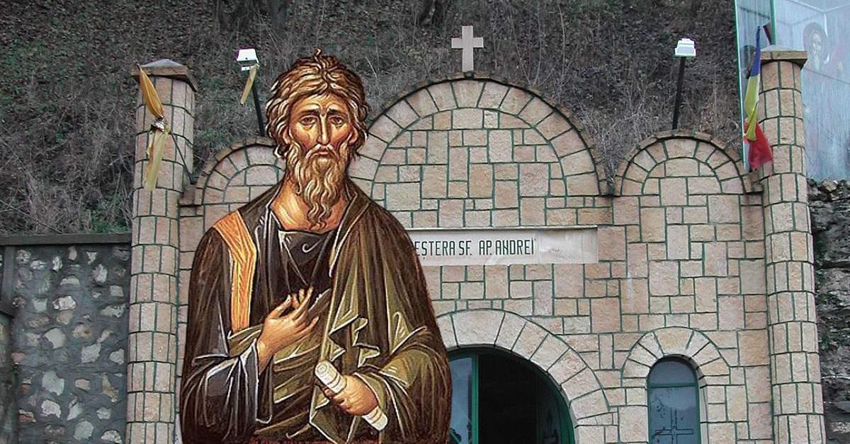 Sf Andrei Pelerinaj anulat. Sf. Andrei nu vrea să fie deranjat, că are o femeie în peșteră