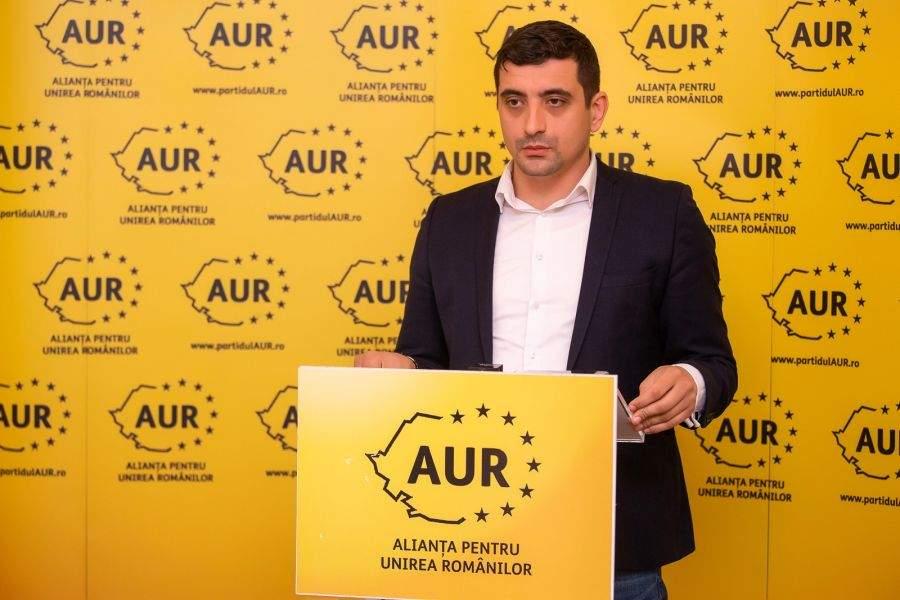 15 puncte ale programului politic al partidului AUR