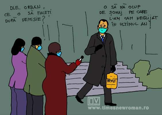 Plecarea lui Orban