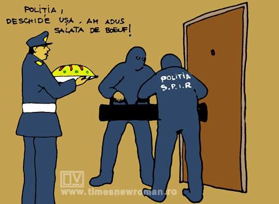 Poliția de revelion