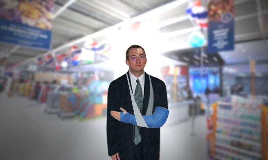 Care discriminare? Angajații Carrefour au bătut azi un bărbat alb