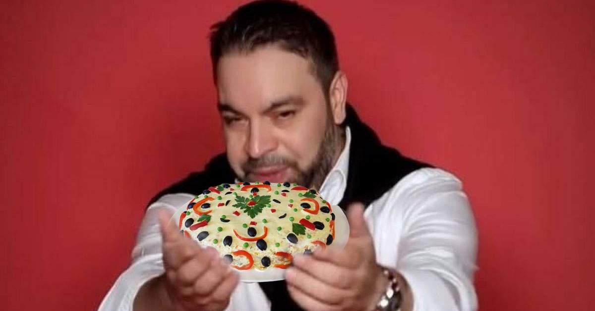 Florin Salam scoate un album de Crăciun sub numele Florin Salată Boeuf