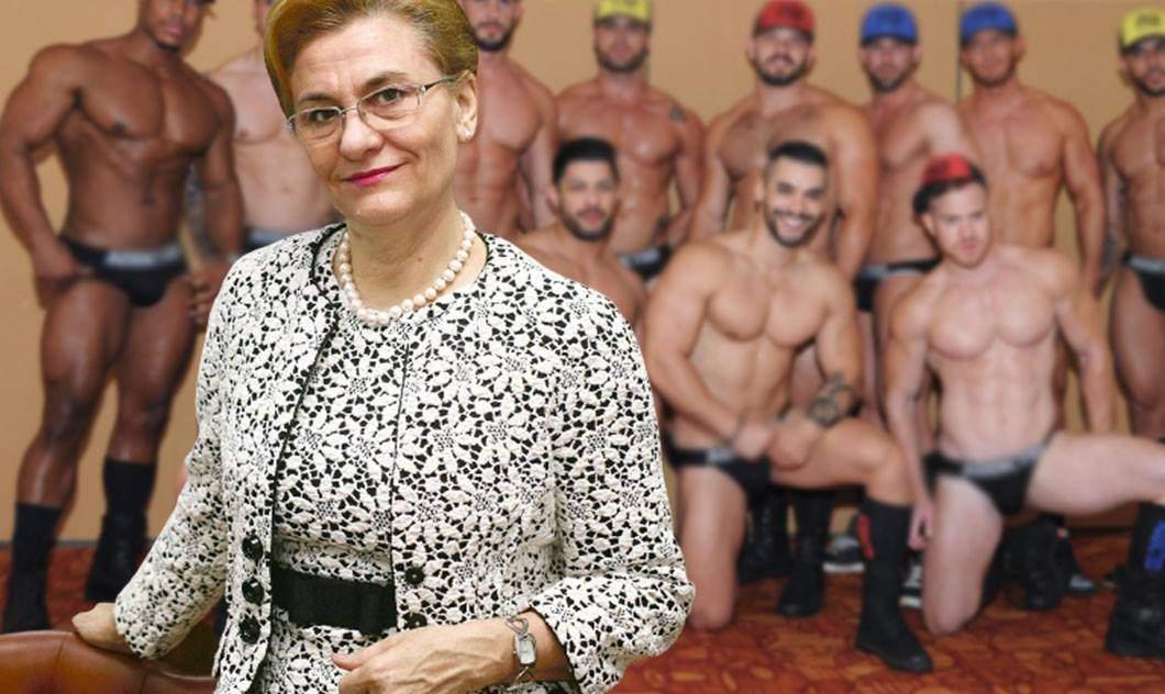 """Gay-i din Bruxelles, deranjați și ei de articolul cu Grapini: """"Nu ne asociați cu ea!"""""""