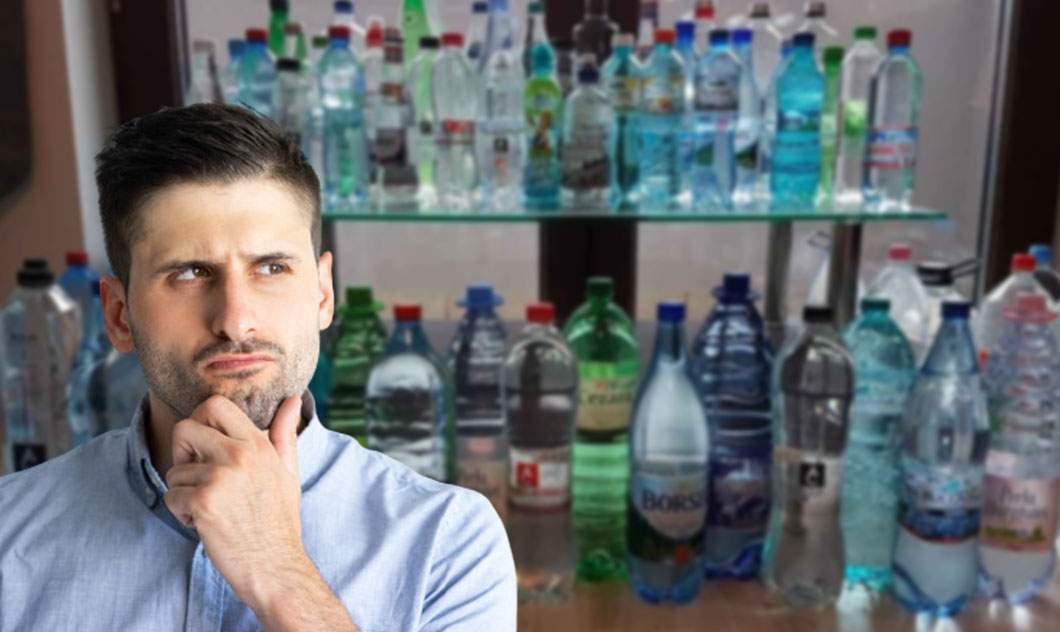 Un român a numărat bulele din apa minerală și a descoperit că lipsesc două