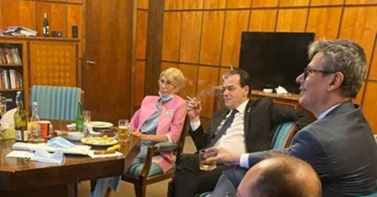 Fum alb la negocieri. Ludovic Orban fumează iarăși înăuntru