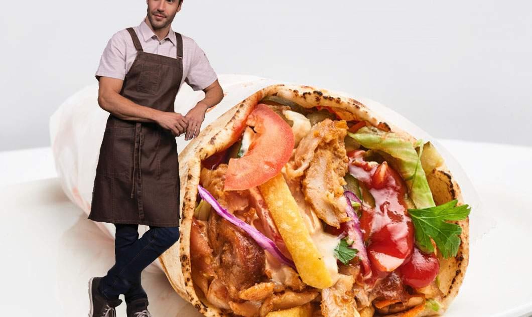 Inspirați de Gordon Ramsay, românii lansează șaorma la 106 dolari! Are 90 kg de carne