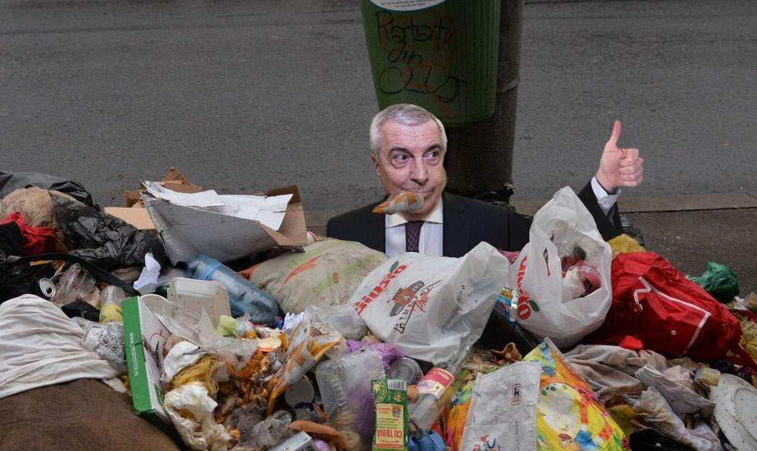 Tăriceanu s-a oferit să mănânce gunoiul din Sectorul 1, contra unei sume modice