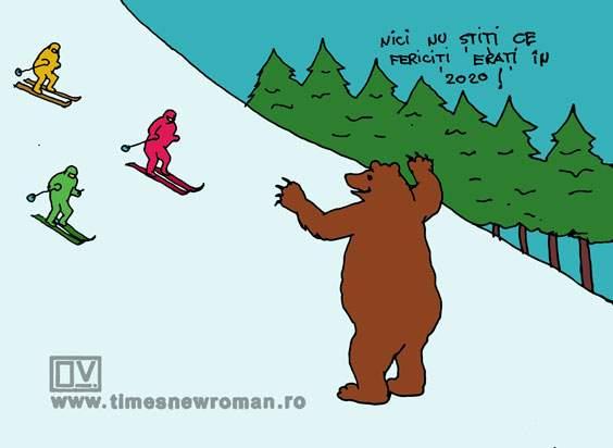 Colindul ursului