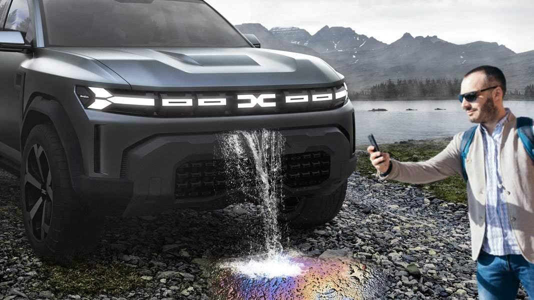 S-a lansat Dacia Bigăr, la care uleiul picură ca o superbă cascadă