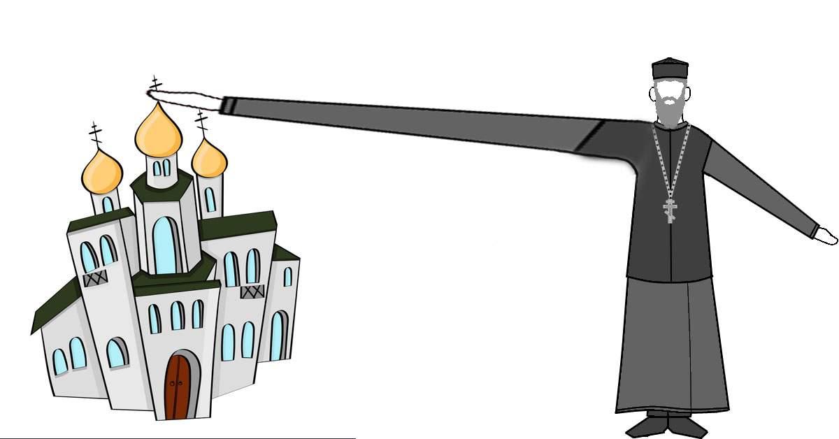 TVR difuzează un serial de desene animate cu un preot cu o mână mare