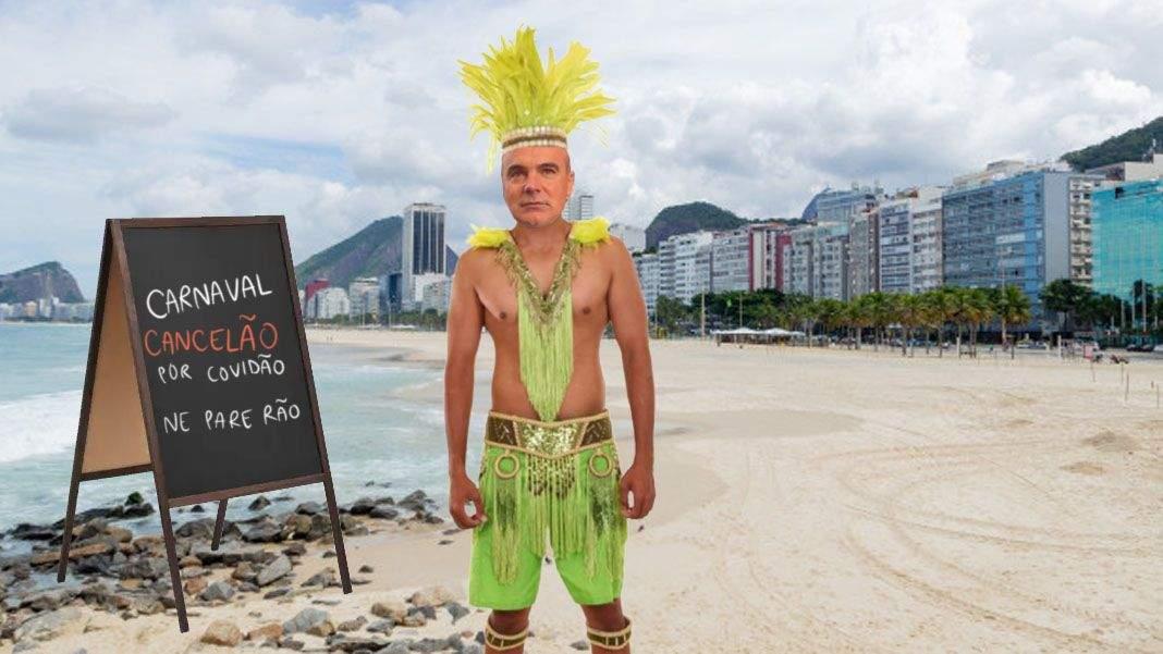 Carnavalul din Rio, anulat! Rareș Bogdan și-a luat degeaba costumul de samba