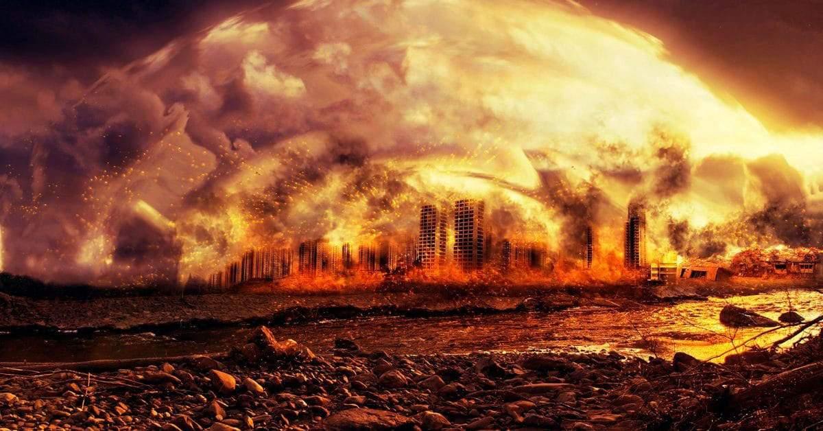 Un agent imobiliar spune că sfârșitul lumii e aproape, la doar 5 minute de metrou