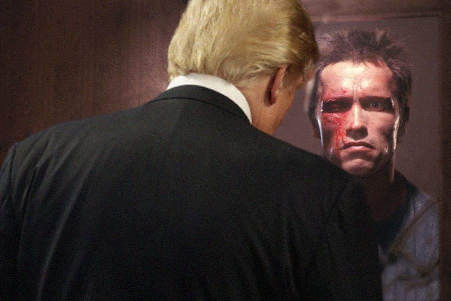 Schwarzenegger va călători în 1984 și va încerca să-l ucidă pe Donald Trump