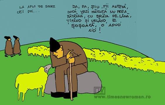 Salvarea ciobanului