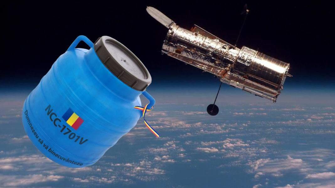România va lansa un butoi pe orbită, să vadă dacă varza se poate mura în spațiu